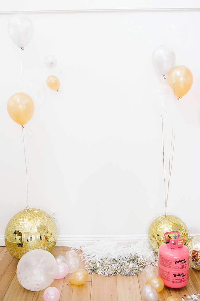 how to make your own photo backdrop with Balloon Time