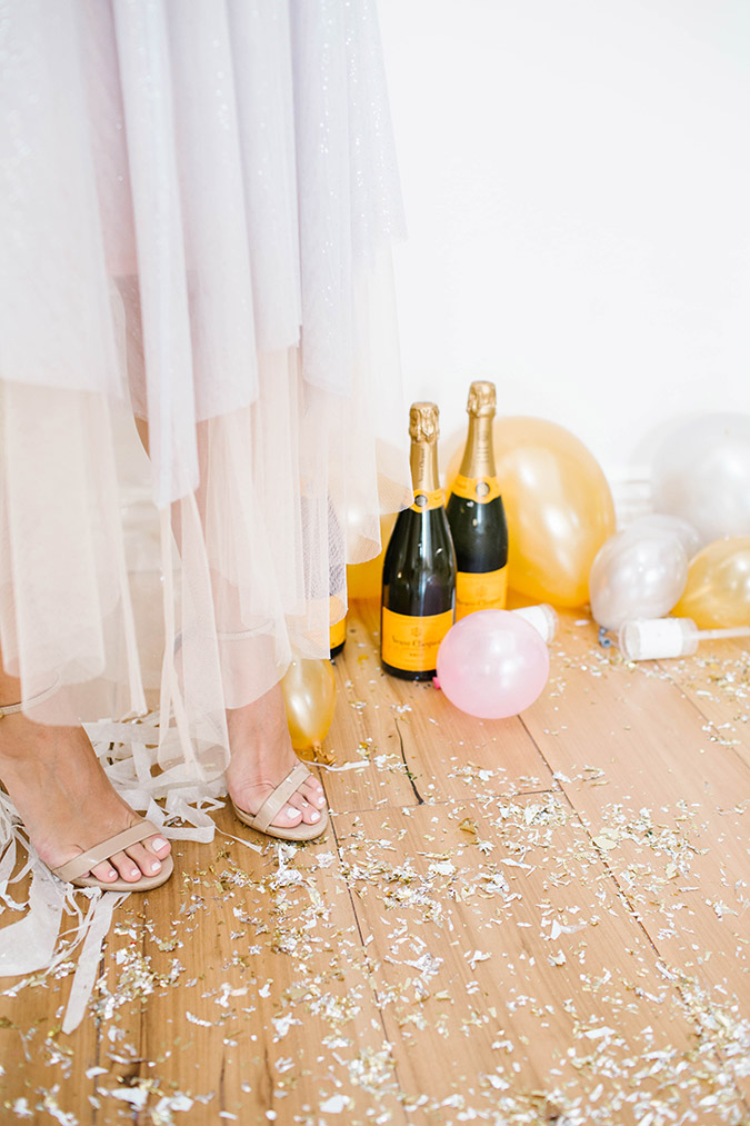 how to create an NYE backdrop
