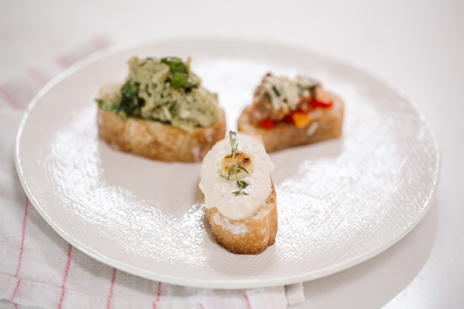 crostinis perfect for your NYE party