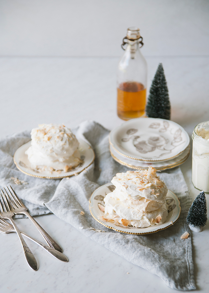 lighter than air coconut snow clouds recipe via LaurenConrad.com