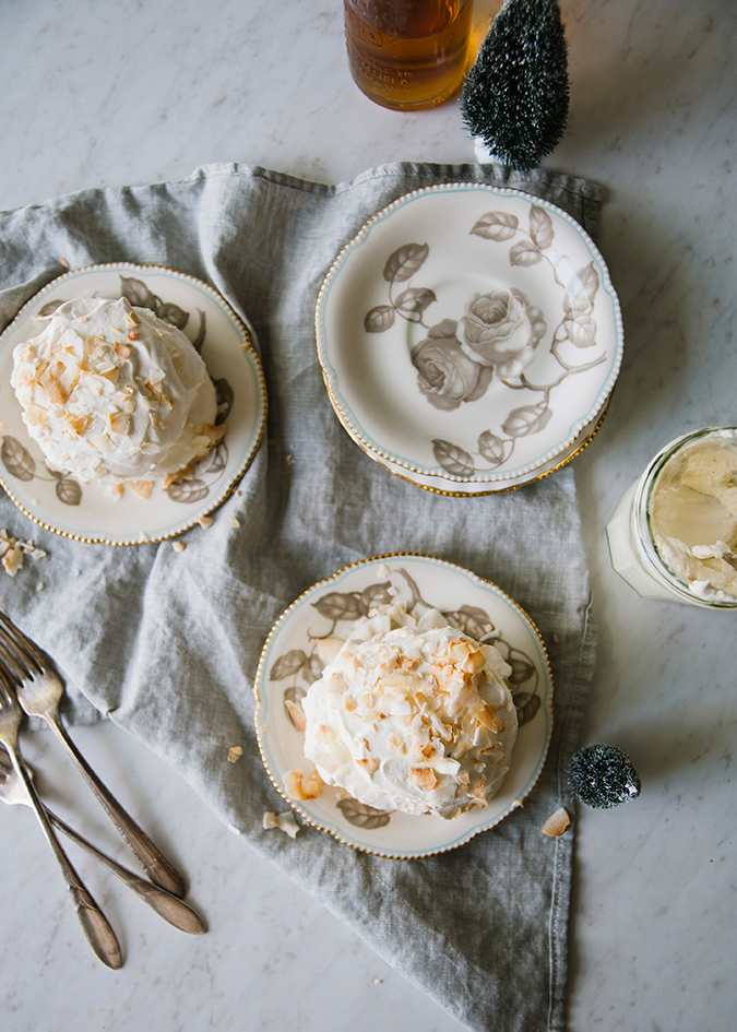 coconut snow clouds recipe via LaurenConrad.com