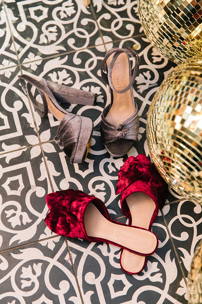 party shoes via LC Lauren Conrad
