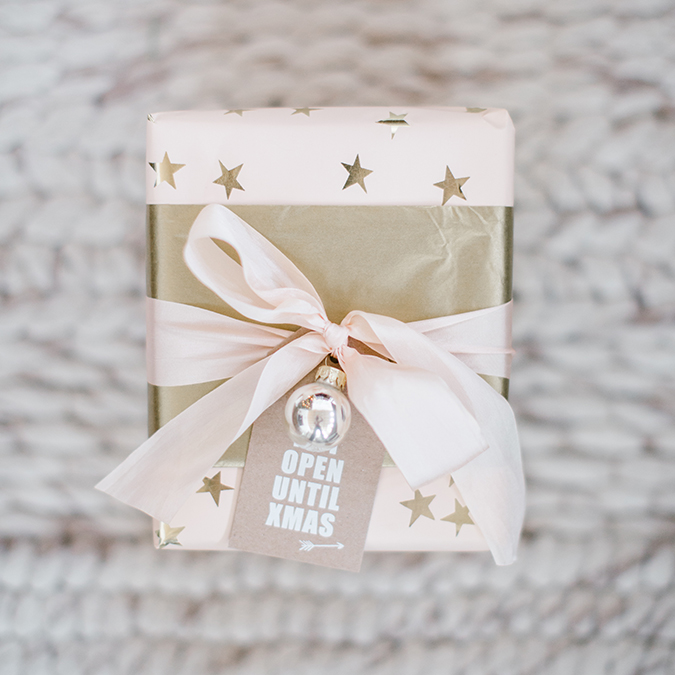 DIY gift wrap for the holidays via LaurenConrad.com