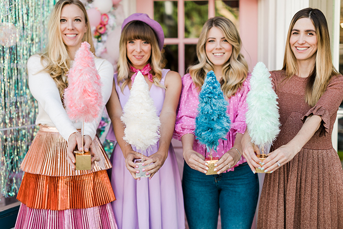 a pink candyland get together on LaurenConrad.com