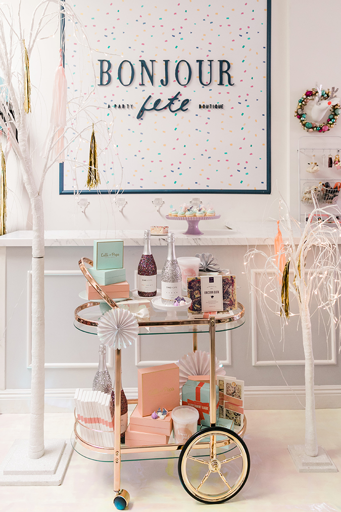 a pink candyland christmas via LaurenConrad.com