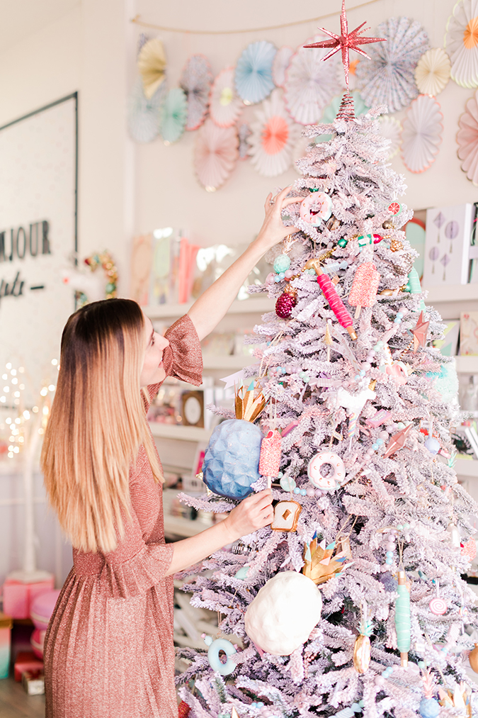 Party Planning A Pink Candyland Christmas Get Together Lauren Conrad