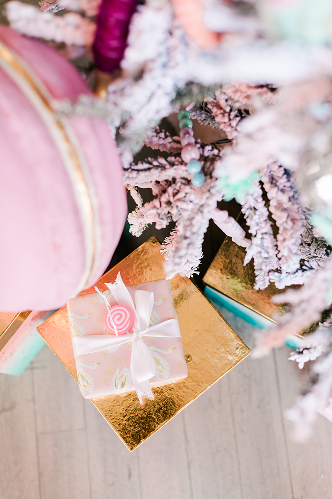 pink candyland christmas tree