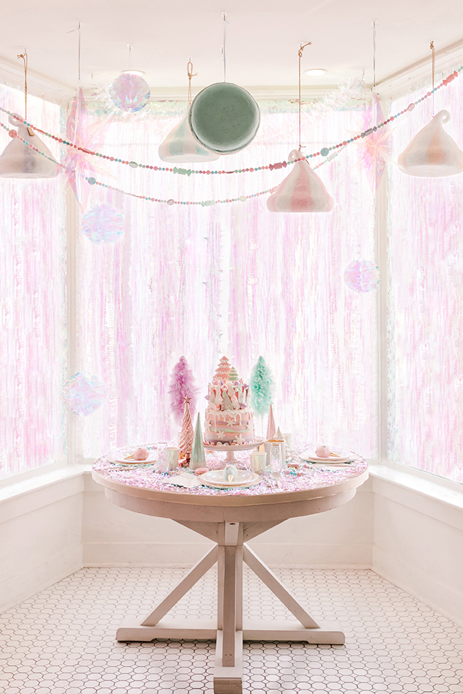 a pink candyland christmas on LaurenConrad.com
