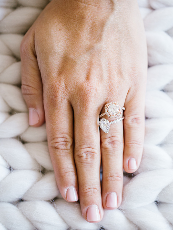classic halo engagement rings