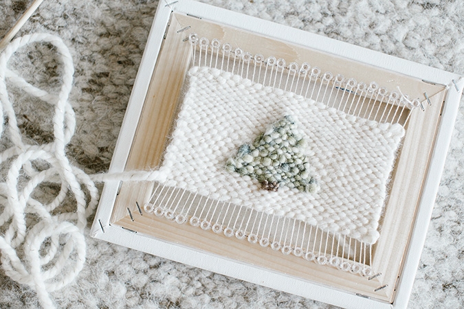 DIY woven wall hanging tutorial - LaurenConrad.com