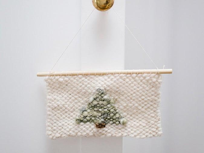 DIY woven wall hanging tutorial via LaurenConrad.com