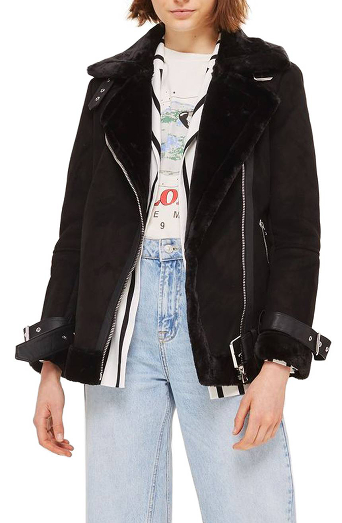 Trouve Leather Jacket