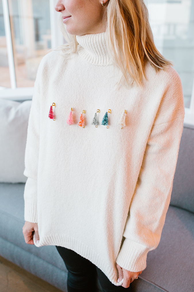 ugly christmas sweater you can make in 5 minutes