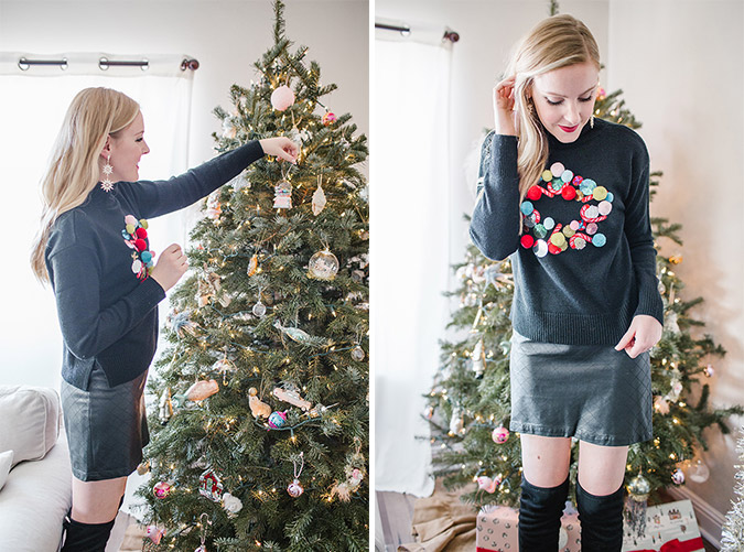 our holiday look with Nordstrom