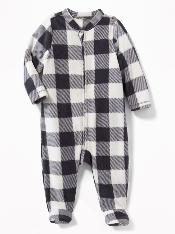 old navy buffalo check pajamas