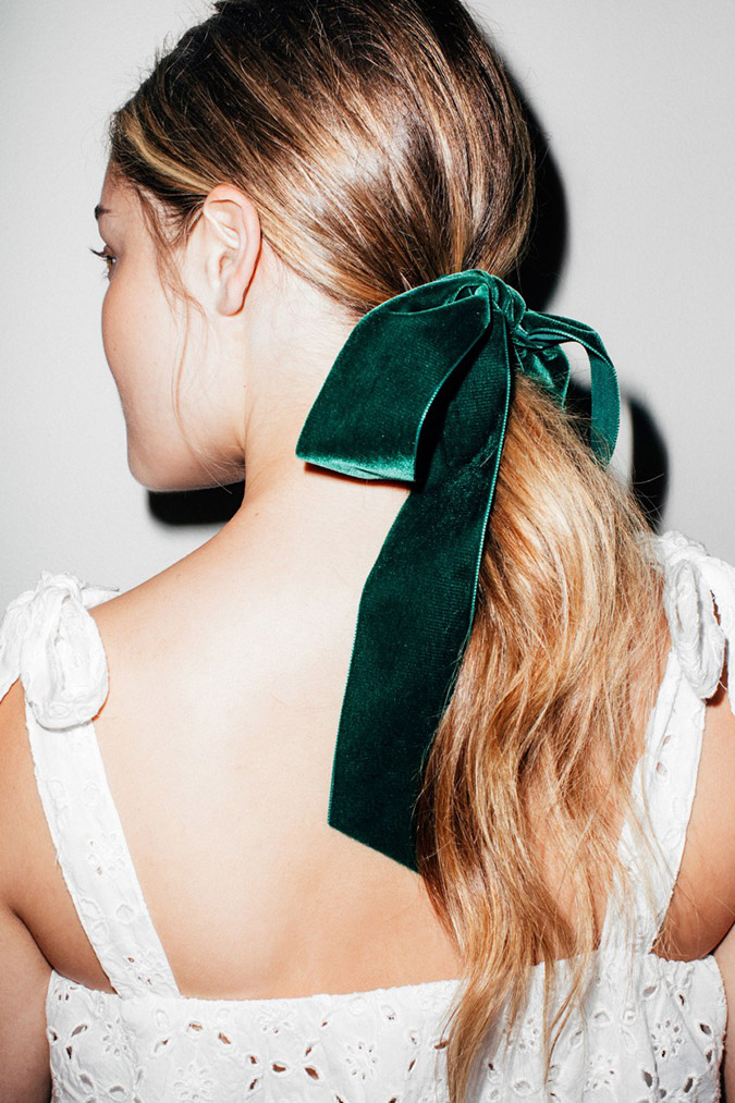 NYE hair inspo via Coveteur