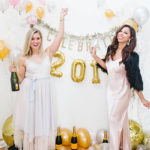 DIY: A Balloon Photo Backdrop for New Year's Eve!