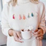 Holiday Hack: The 5-Minute Bottle Brush Tree Christmas Sweater