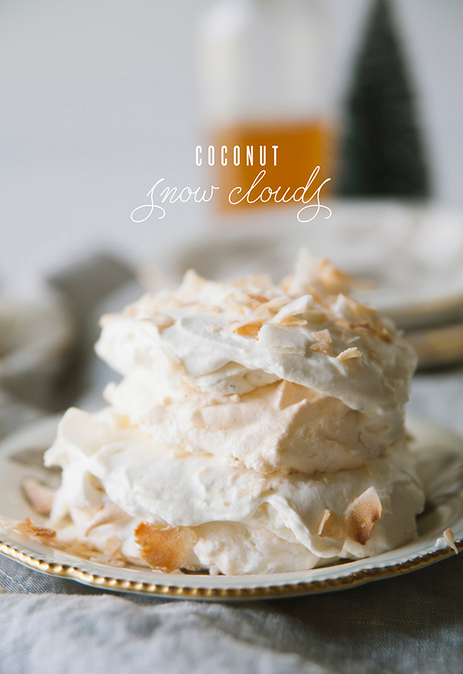 fluffy coconut snow clouds recipe