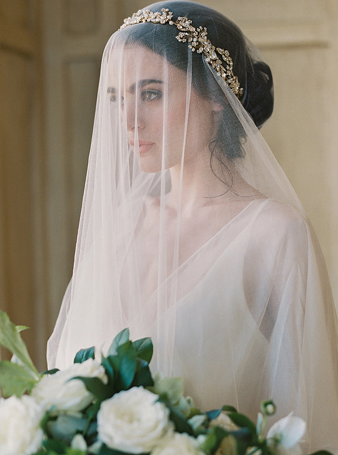 old world style bridals by Laura Gordon