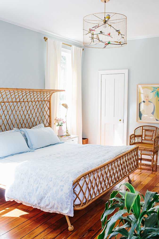 casual and eclectic home tour via Glitter Guide