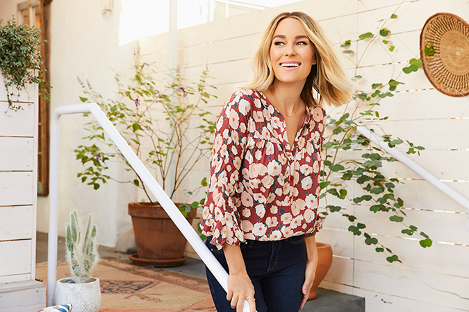 Lauren Conrad in her January collection for Kohl's