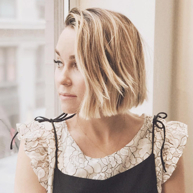 Lauren Conrad's advice on getting a bob