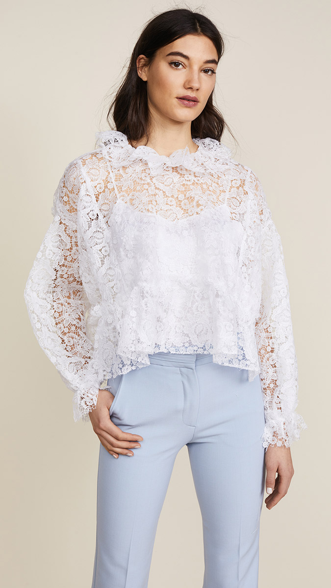 Jourden Lace Blouse