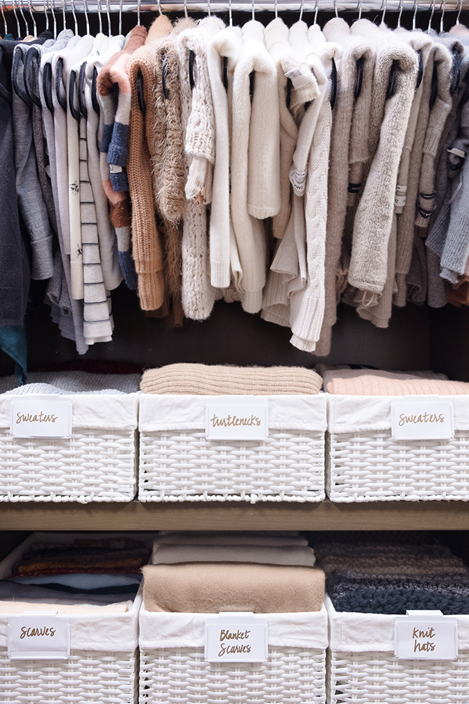 home organization hacks from Lauren Conrad