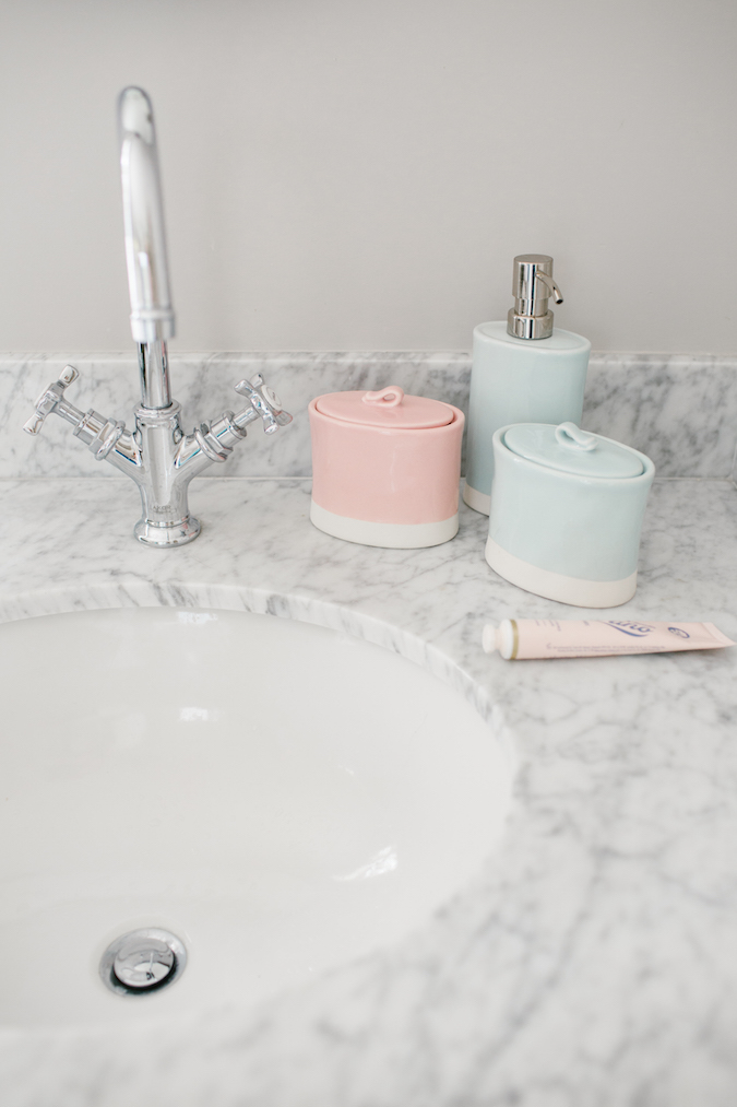 LC Lauren Conrad ceramic bath accessories