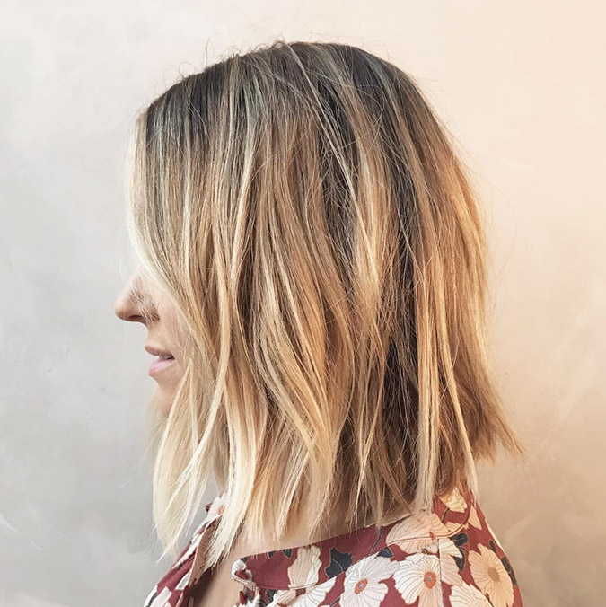 Lauren Conrad's advice on getting a long bob
