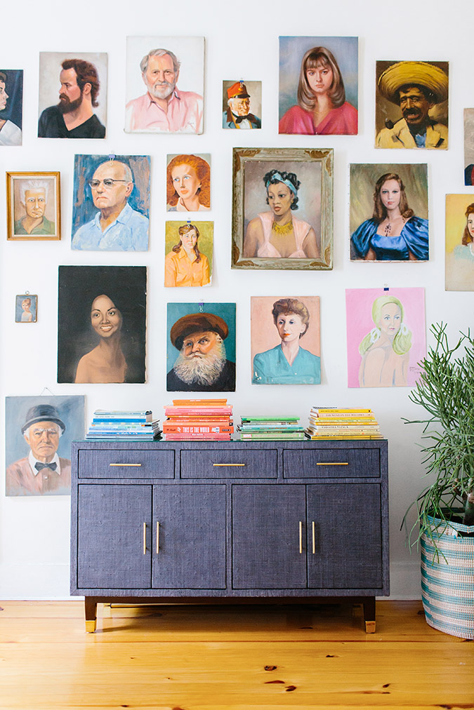 the prettiest portrait wall