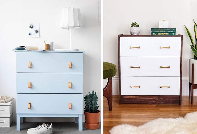 the best IKEA dresser hacks