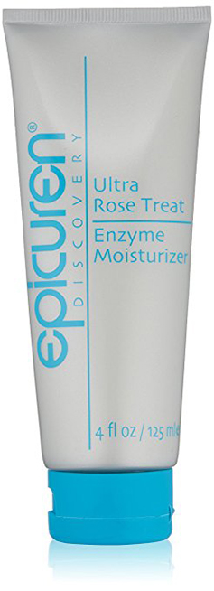Epicuren rose treat enzyme moisturizer
