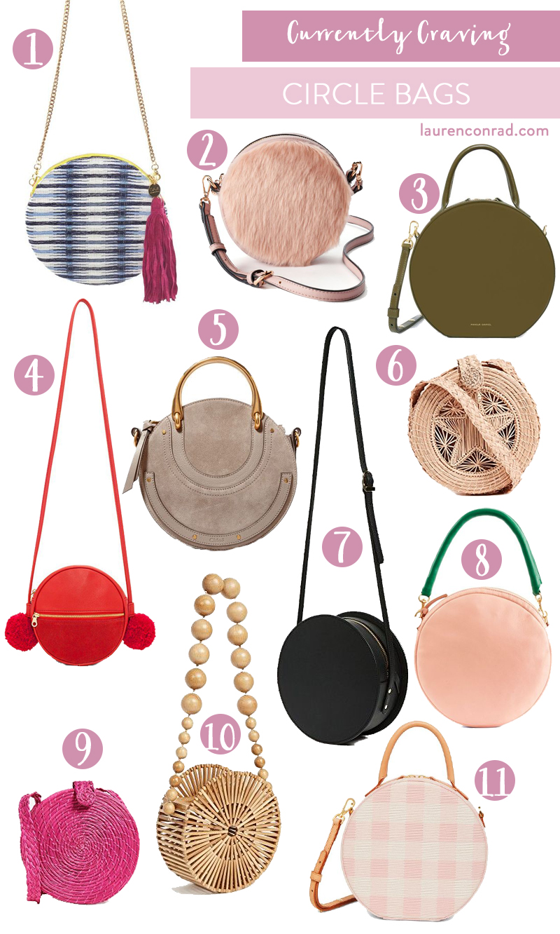 the circle bags we're craving
