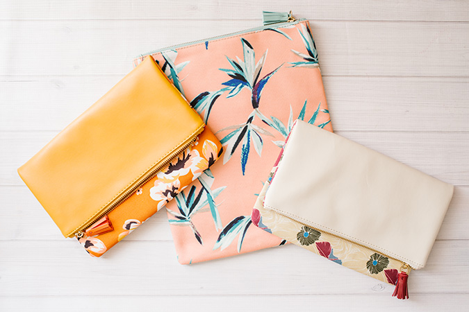 sweetest clutches in the spring FabFitFun box