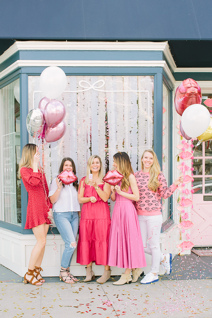 fun galentine's party via laurenconrad.com