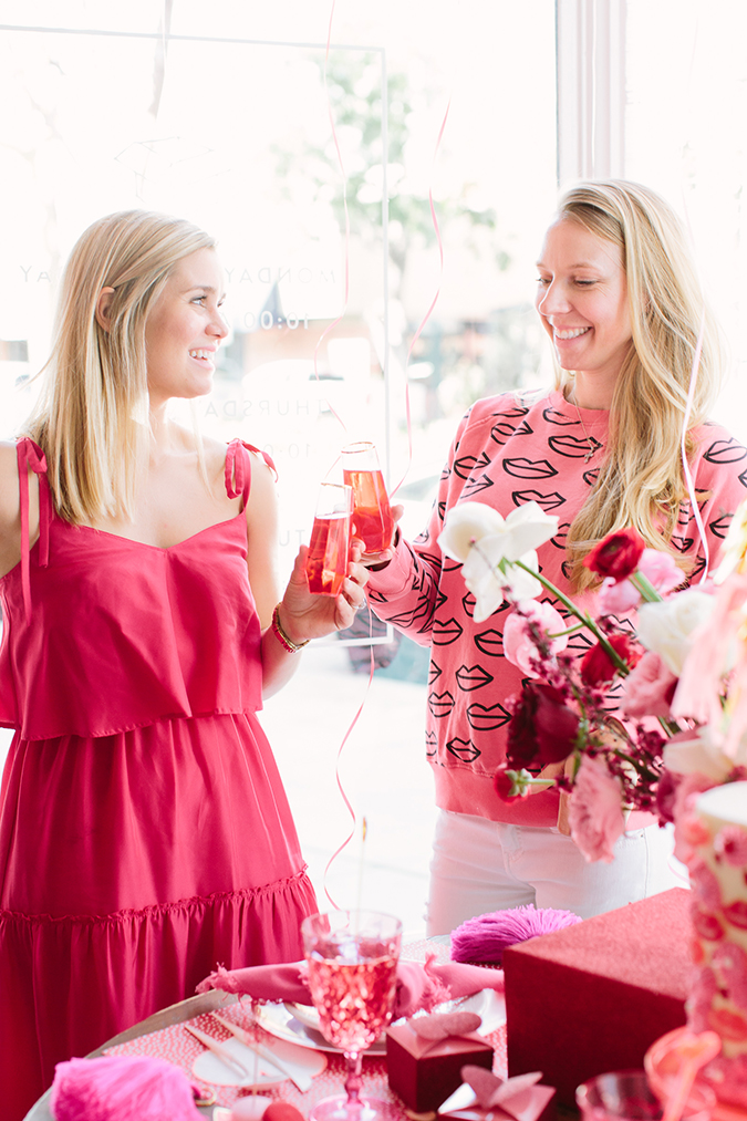 how to throw the best galentine's bash