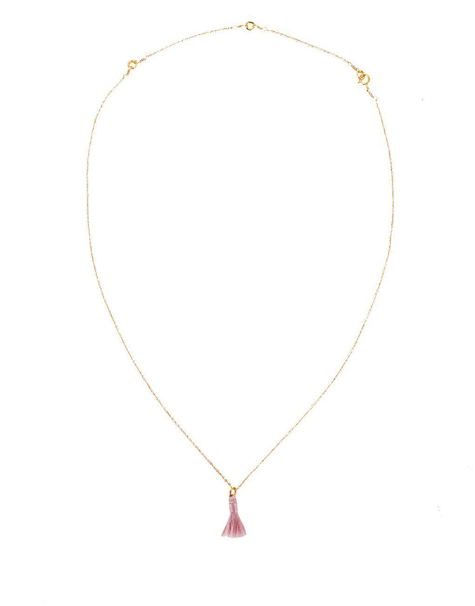 The Little Market tassel necklace on laurenconrad.com