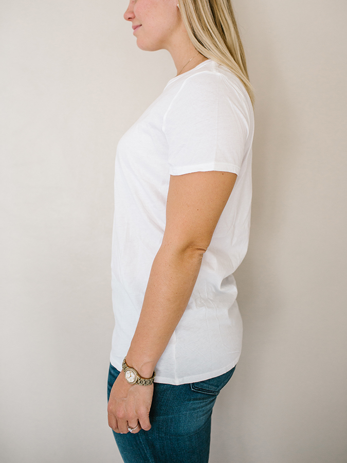 plain white tee from Gap