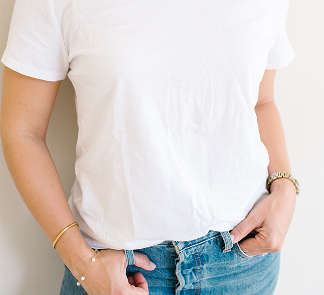 Style Guide: The Perfect White T-Shirt