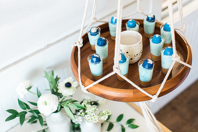beach boho baby shower