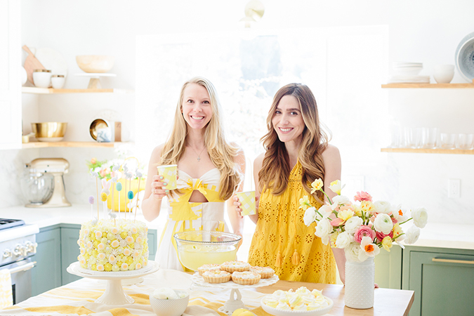 how to make pastel yellow meringues for easter