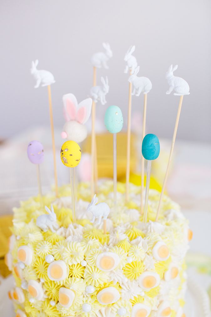 easter party cake via laurenconrad.com