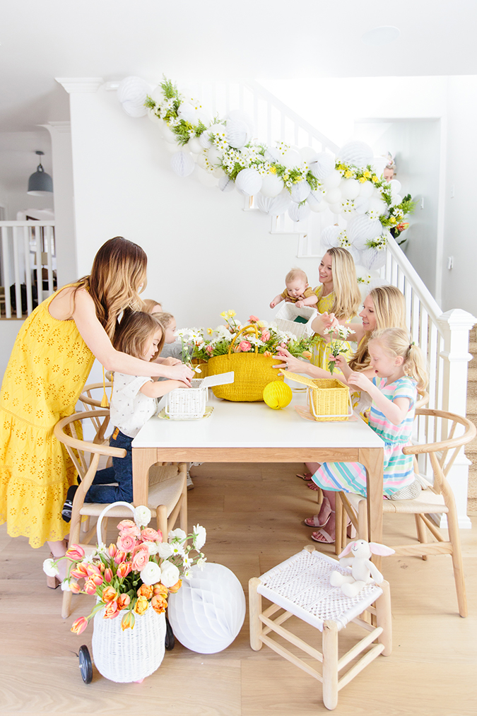 easter kids party via laurenconrad.com