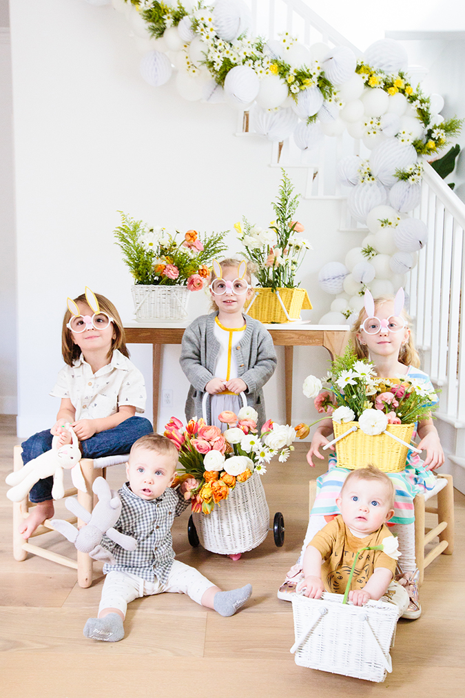 the cutest kids easter party via laurenconrad.com