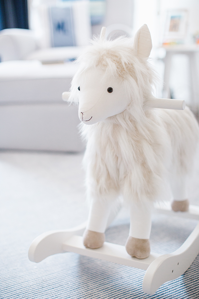 nursery decor details from Pottery Barn Kids