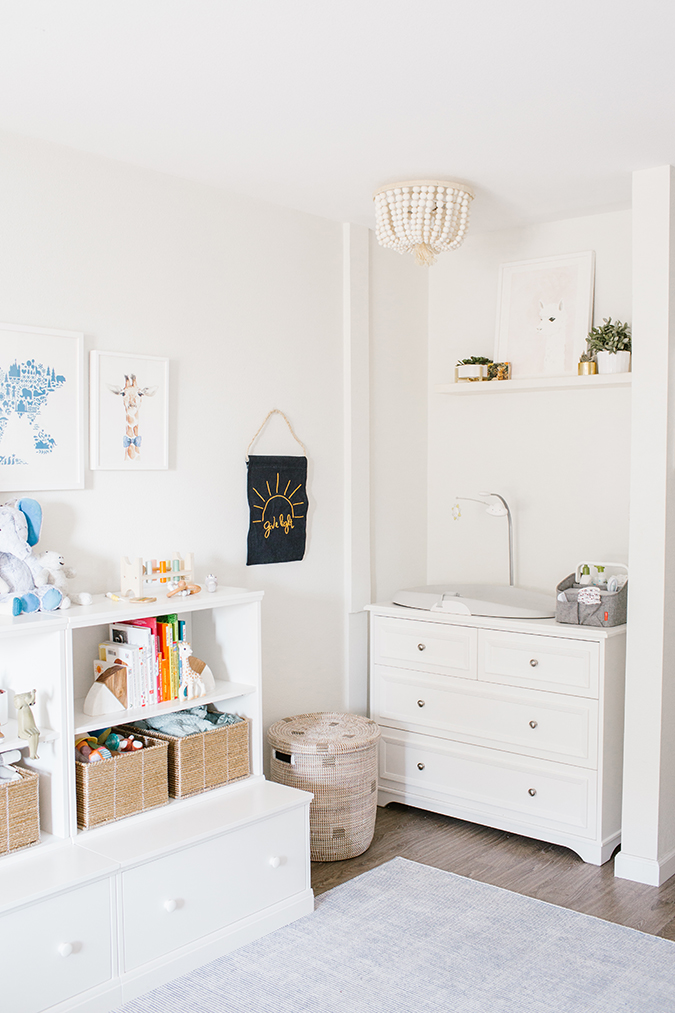 Home Makeover A Light And Bright Animal Themed Nursery