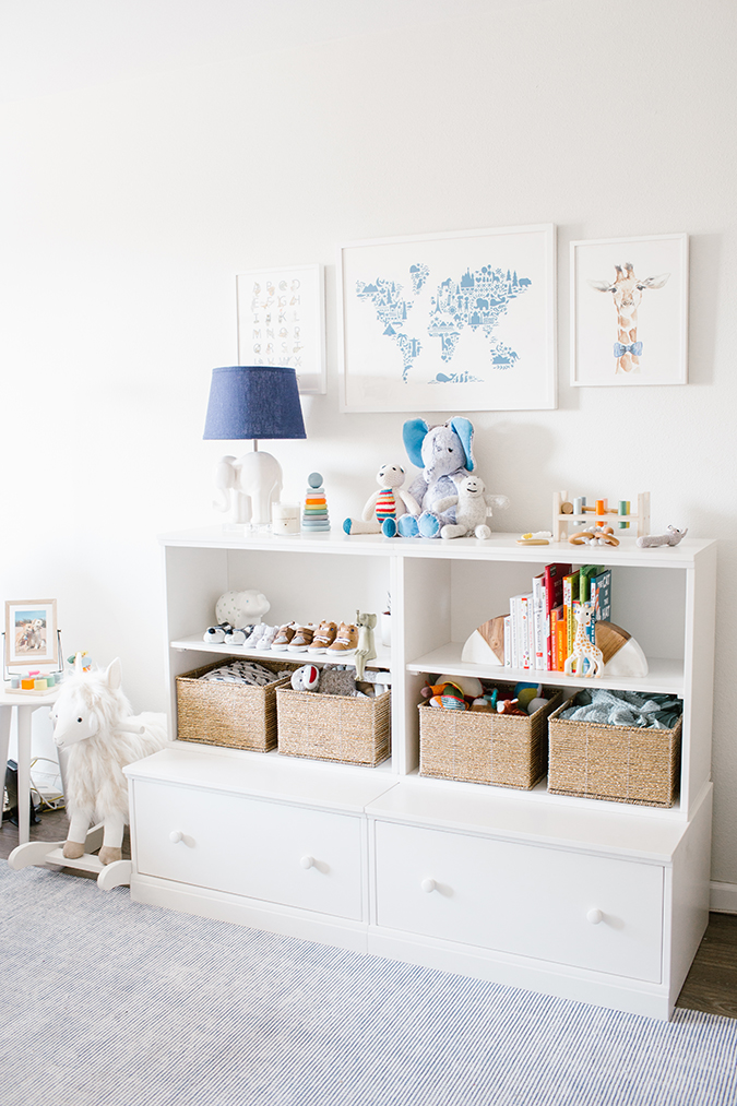 nursery makeover with Pottery Barn Kids on LaurenConrad.com