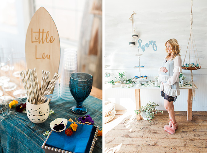 'beach baby' shower via laurenconrad.com